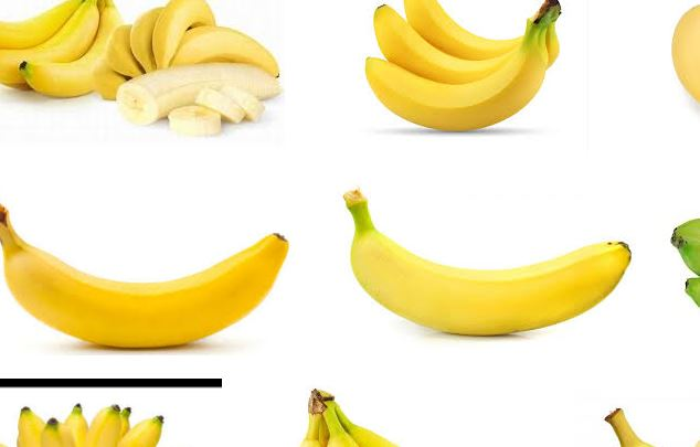 pisang kuning matang